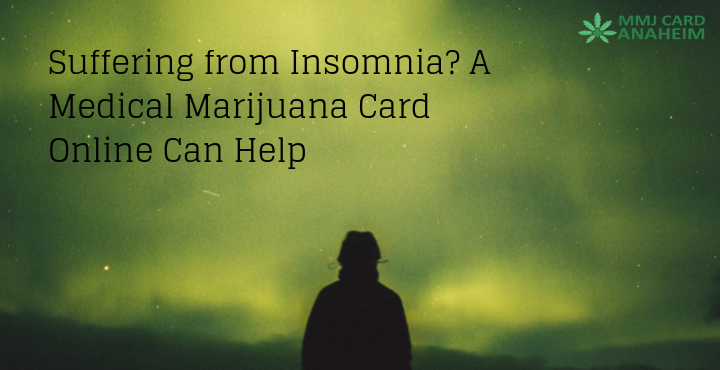 Suffering from Insomnia? A Medical Marijuana